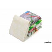 Наволочки на молнии поплин в ассортименте (пл. 115 грамм) (в упаковке 2 шт)