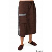 Полотенце - накидка махровая (мужская)