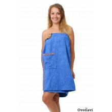 Полотенце - накидка махровая (женская)