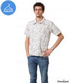 Рубашка льняная Ovonavi-42